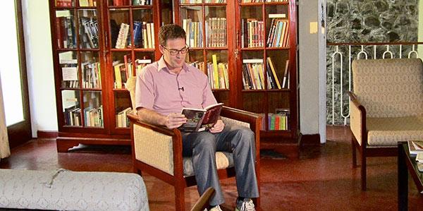 Garrett Field Reading Aloud for Derana TV Feature